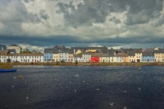 The Long Walk and Galway Harbour in Galway, Ireland. The city's oyster festival is happening now.
